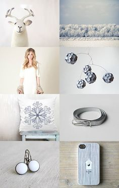 Snowflakes by Lucia Vils on Etsy--Pinned with TreasuryPin.com