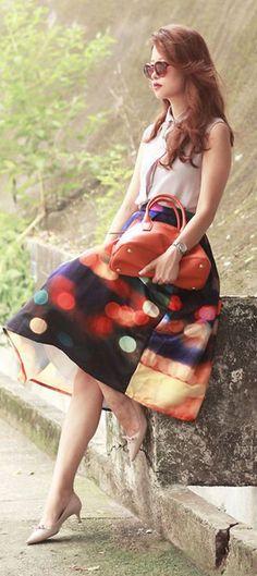 Lights Fantastic Skirt