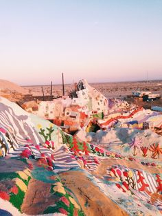 Salvation Mountain| Week 3: Southern California — MARTHA + LYUDA