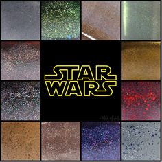 Star Wars Collection, available at my shop :) #indiepolish #starwars