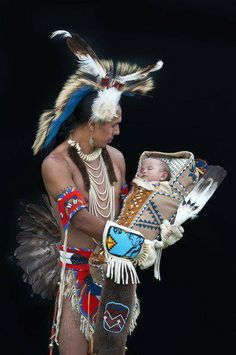 Beautiful Native Fatherhood!