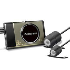 [US$110.99 ~ 133.99] T21080PмотоциклВидеорегистраторВидеомагнитофонFHD Передний задний GPS G-сенсор Dual камера  #dual #t21080pfhd