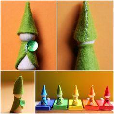 DIY - Rainbow Gnomes
