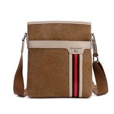 Men s Vintage Stylish Canvas Shoulder Bag Accessoires, Sac De Messager Pour  Hommes, Sacs À d356b77482e