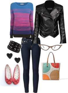 """""""Gleeky."""" by pixel-azul on Polyvore"""