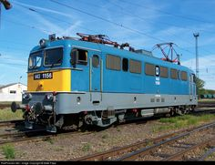RailPictures.Net Photo: V43 1156 Hungarian State Railways (MÁV) V43 at Nyíregyháza, Hungary by Máté Papp Choo Choo Train, Bahn, Model Trains, Locomotive, Hungary, Engineering, Journey, Check, Travel