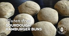 These hamburger buns are a spin-off of a dinner roll recipe, but work really well as the bookends to the perfect burger.Split, butter, and toast them for a delicious gluten-free burger!