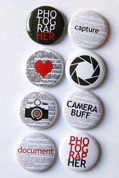 "10 Blank Fabric Badges 1.5/"" Round White Black Crafts Scouts Scrapbooking Merit"