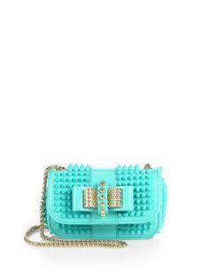 Christian Louboutin - Sweet Charity Glitter Mini Shoulder Bag - Saks.com