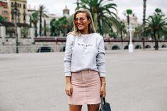 Pink denim & palm trees – Eirin Kristiansen