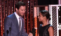 Yesterday night (November 1st)Alicia Vikander received the Hollywood Breakout Actress Award for her amazing performance in The Danish Girl. Her award was presented by our favorite U.N.C.L.E. spie, Armie Hammer! Make sure to check our gallery for lots of fantastic pictures of Alicia and Armie, click here.