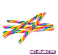 Just found Cherry Rainbow Hard Candy Sticks: 100-Piece Box @CandyWarehouse, Thanks for the #CandyAssist!