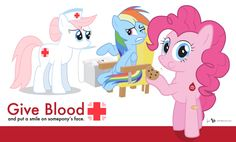 Blood Drive Posters | Ponyville Blood Drive Poster by dm29 on deviantART