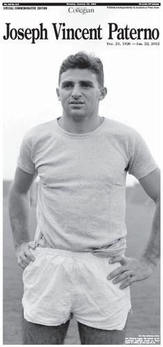 A young Joe Paterno
