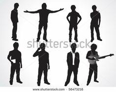 People-Big-Set-2 Stock Vector 173974397 : Shutterstock