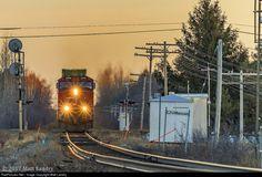 Net Photo: IC 2699 Canadian National Railway GE (Dash at Maccan, Nova Scotia, Canada by Matt Landry Trains, Canadian National Railway, Abandoned Train, Choo Choo Train, Train Journey, Nova Scotia, Canada, America, Landscape