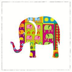 Decorative Elephant - Tanya Trevor