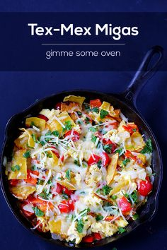 Migas (Tex-Mex Style) - Gimme Some Oven