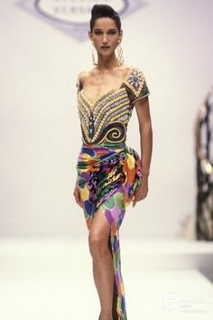 Gianni Versace, Spring-Summer 1990, Couture