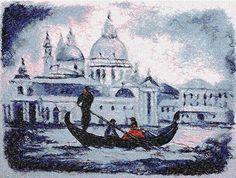 Venezia photo stitch free embroidery design - Photo stitch embroidery - Machine…