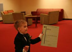 Tyre, who was born with spina bifida, wished to be an orchestra conductor.  http://www.wish.org