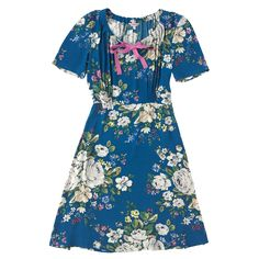 Hampstead Rose Crepe Dress with Bow Detail | Hampstead Rose | CathKidston