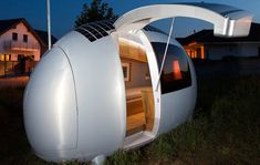 Ecocapsule by Nice Architects,World's first off-grid Ecocapsule home to hit the market this year, shipping in 2016