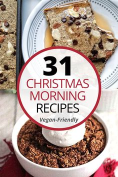 A roundup of easy, delicious vegan-friendly recipes for this upcoming holiday season. From Christmas breakfast casseroles to spiced-up cakes.