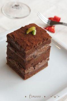 *ビターガナッシュ*チョコレートケーキ