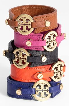 Tory Burch wrap bracelet getting this in black orange or navy