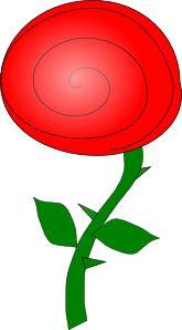 Rose Flower Clip Art
