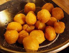 libyan food: Fritters in Syrup: Lugmet El Qadi العوامــــــــــه او لقمت القاضي