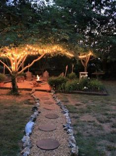 This is a great pathway leading to backyard fun!