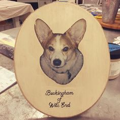 Buckingham makes one heck of an adorable transfer! #rescuedrelicsstudio #transfers #transfer #transferclass #buckingham #corgi #corgipuppy #corgibaby #dogsofinstagram #adorablepuppy