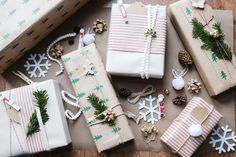 How to make your Christmas Gift wrapping extra special Christmas Tunes, Christmas Gifts, Dollar Store Crafts, Dollar Stores, Elf Hat, Christmas Gift Wrapping, My Favorite Part, Special Gifts, Gift Tags