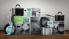 Дизайн упаковки посуды