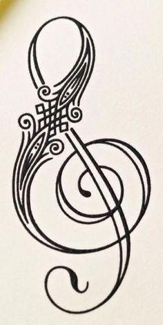 Music Note Tattoo On Neck Treble Clef 17 Ideas Music Tattoo Designs, Music Tattoos, Body Art Tattoos, Small Tattoos, Faith Tattoos, Neck Tattoos, Tiny Tattoo, Word Tattoos, Tatoos