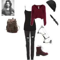 Love this outfit Punk Outfits, Teen Fashion Outfits, Grunge Outfits, Outfits For Teens, Fall Outfits, Zombie Apocalypse Outfit, Apocalypse Fashion, Zombie Apocolypse, Badass Outfit