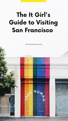 Heading to San Francisco any time soon? Bookmark this city guide. Here's where to visit when you're traveling to SF.