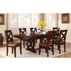 Found it at Wayfair - Mannox Extendable Dining Table