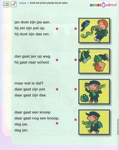 Zinnen lezen Learning Support, Spelling, Classroom, Education, Logos, Kids, Carnival, Toddlers, Boys