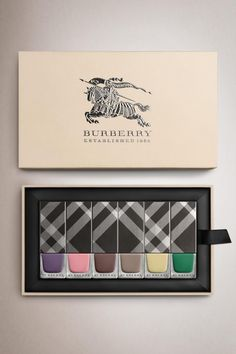Burberry Spring/Summer 2014 Pastel Nail Polish