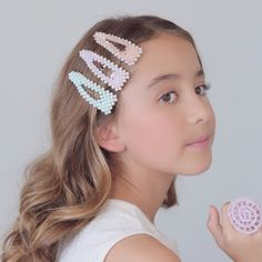 Handmade Hair Accessories, Party Accessories, Hair Barrettes, Hair Clips, Lady Jane, Pearl Cream, Pearl Beads, Girl Hairstyles, Pearls