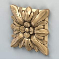 Square rosette 006 model rosette square, available formats MAX, OBJ, STL, ready for animation and other projects Wood Carving Designs, Wood Carving Art, Aluminum Foil Crafts, 3d Cnc, Reclaimed Wood Art, 3d Pattern, Decorative Mouldings, 3d Models, Organic Shapes