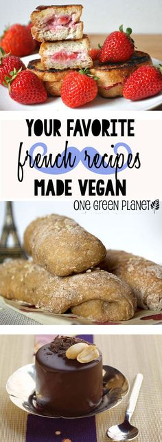 Paint Us Like One of These Vegan French Recipes! Links to recipes are in the text. Better yet subscribe to their newsletter.