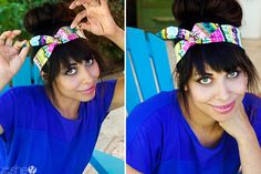 DIY on a headscarf with a wire | How Does She...