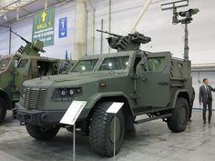 Desarrollo y Defensa: Vehículo MRAP Kozak (Ucrania)