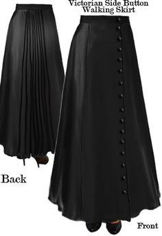 Victorian Walking Skirt Amber Middaugh
