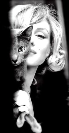 Marilyn and kitty