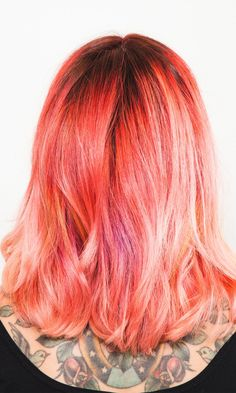 How to Switch Rainbow Hair Colors Without Totally Destroying Your Strands